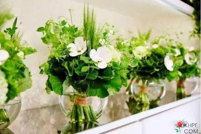 搭配漂亮的鲜花